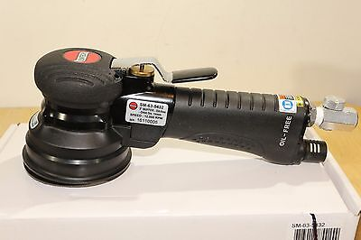 "Suntech Pneumatic Air 3"" Random Orbital Buffer Polisher 9/16 Orbit Palm Two Hand"