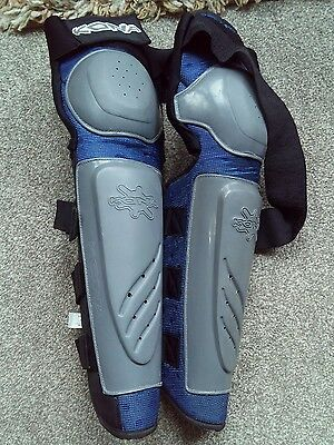 Kona knee and shin pads for down hill, stunt, BMX  men's large used
