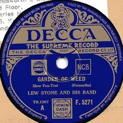 "78er Euro-Jazz British Dance Band Lew Stone a.h. Band ""That's A Plenty"""