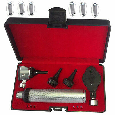 Otoscope & Ophthalmoscope Set ENT Medical Diagnostic Surgical Instruments