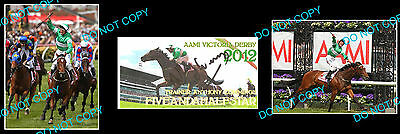 Anthony Cummings Fiveandahalfstar Horse Racing Trainer Signed Cover +2 Photos