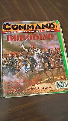 Command Magazine Issue 44 Borodino Game Unpunched