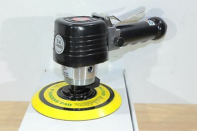 "Suntech Pneumatic Air 6"" DA Dual Action Hand Sander 10,000 RPM 3/16"" Orbit"