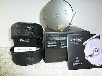 "Hardy Perfect 4"" Wide Spool Made In England - New Boxed"