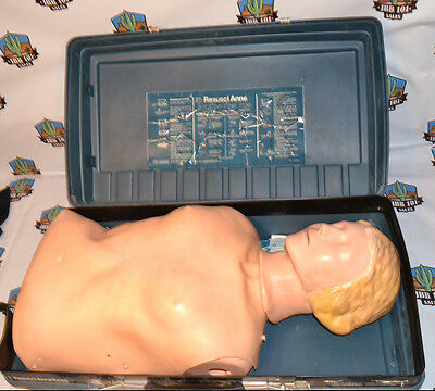 Laerdal Resusci Anne Adult CPR Training ursing Torso with case