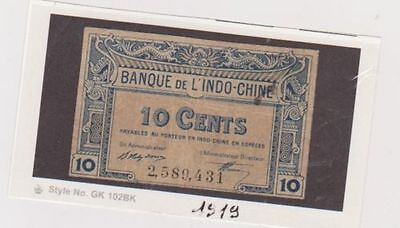 Indochine billet de 10 cents 1919                          REGLEMENT PAYPAL