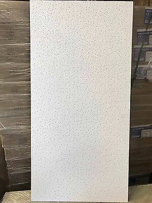 Joblot 50 sq mtrs Spintone Fire Rated Suspended Ceiling Tiles 1200mm x 600mm NEW