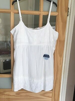 JOJO MAMAN BEBE NURSING VEST AND LINEN TROUSERS 16 New
