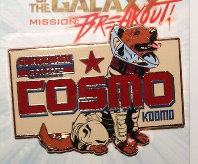 Disney 2017 Guardians of the Galaxy Vol 2 Mission Breakout Cosmo Pin