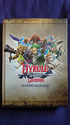 Hyrule Warriors Legends Collector's Edition Guide Hardcover Nintendo 3DS UK New