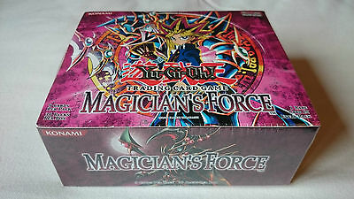 Yu-Gi-Oh! Magician's Force Unlimited 36 Pack Booster Box New Sealed Unopened