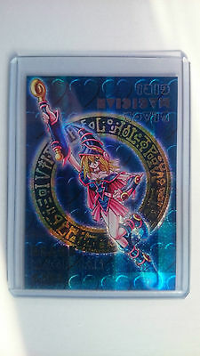 Yu-Gi-Oh Dungeon Dice Monsters Black Magician Girl Parallel Rare New Mint