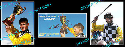 Brad Rawiller Viewed Caulfield Cup Horse Racing Signed Cover +2 Photos