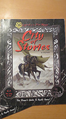 L5R - Legend of the 5 Rings - L1 The City of Lies - City of Stories