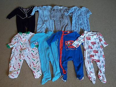 Baby Boy Sleepers Lot  6-12 months (#1)