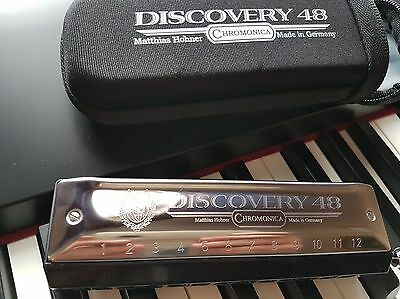 Hohner Discovery 48Chromatic Harmonica in C