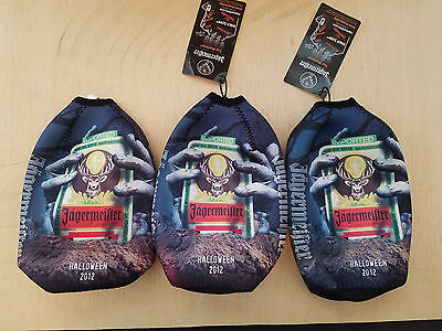 Limited Edition Jagermeister 2012 Halloween Stay Cool Pack Koozie New With Tags
