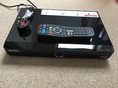 HUMAX DTR-T1000 500GB BT Youview Dual Tuner Digital TV Freeview HD Recorder