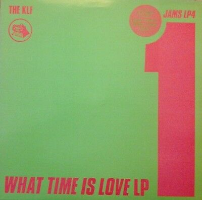 "The Klf - ""what Time Is Love?"" Story (Lp) Vinyl Album Dance/trance 1989 Nm/ex"