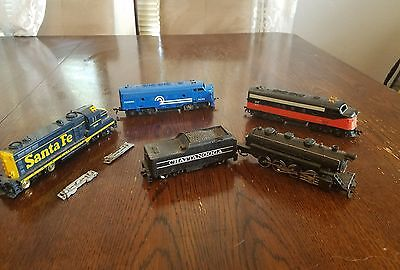 H.O. Scale Lot of Engines