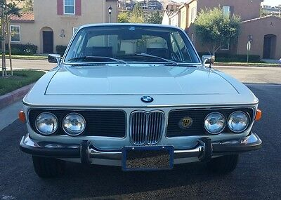 1972 BMW 3-Series CS 1972 BMW 3.0CS 4-Speed