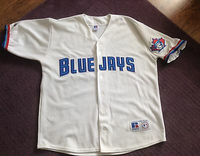 Toronto Blue Jays Baseball Shirt Jersey Size XL Russell Athletic