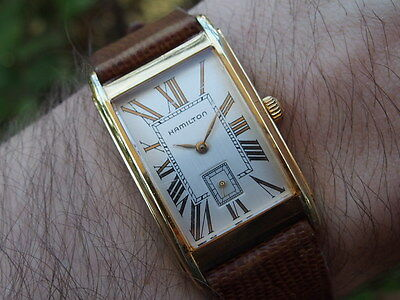 Hamilton Square vintage swiss made watch 6268