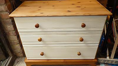 Pine Chest of Drawers. Ideal Shabby Chic project