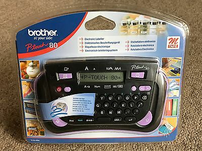Brother P-Touch 80 Label Thermal Printer - New and Sealed - Office Labels - BNIB