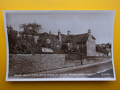 Manor House Farm WOODSTOCK Oxfordshire RP 1952 Birthplace of Black Prince