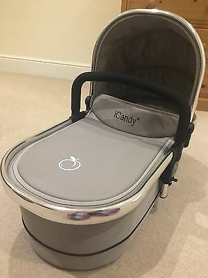 iCandy Peach 2 Carrycot Silver Mint