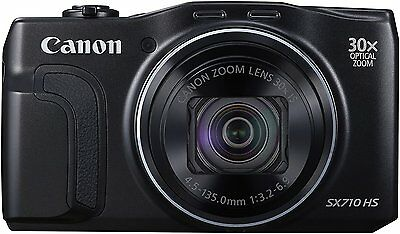 Canon PowerShot SX710 HS 20.3 MP Digital Camera - Black