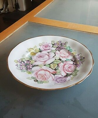 Large hand painted Polish plate