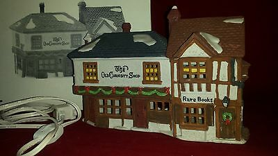 Dept 56 Heritage Village Dickens' Series THE OLD CURIOSITY SHOP #5905-6 Light Up