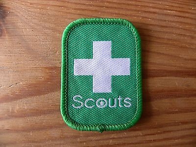 Current UK Scouting  Beaver, Cub and Scout Leader First Aid Badge