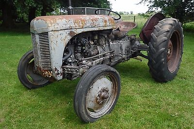 Nuffield 4/65 Road Reg 1969 Working Tractor See Video Can Deliver No Vat