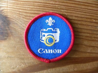 Current UK Scouting Scout Proficiency Badge - Photographer