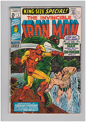 Marvel Iron Man King-Size Special Annual #1 - Aug 1970 - Sub-Mariner Appearance