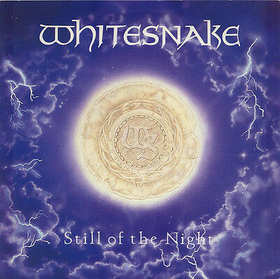 "Whitesnake ‎– Still Of The Night 1987 UK 12"" Single VG+/EX"