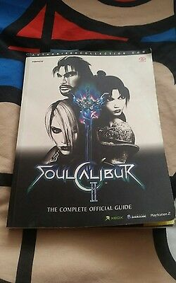 soul calibur strategy guide xbox/ps2/gamecube
