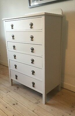 Vintage Shabby Chic Chest of Drawers Farrow & Ball