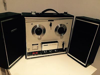 Sony TC 252 Reel To Reel No Working