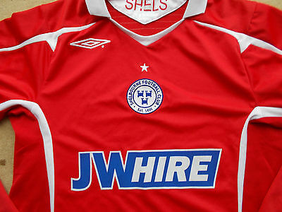 SHELBOURNE football shirt..small...long-sleeves...mint...