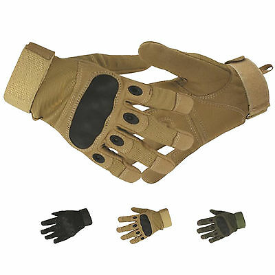 Outdoor Riding Cycling Tactical Gloves Full Finger Antiskid Mens Sports Gloves