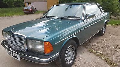 1985 B Mercedes-Benz 280CE W123 Coupe 2Owners Leather E/Windows Roof