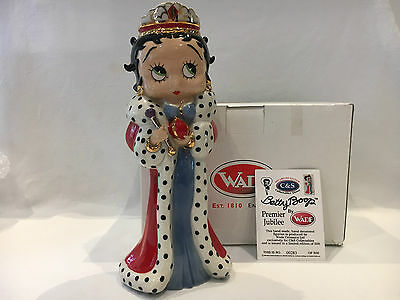 Rare Wade Special Betty Boop Red Jubilee Queen 9 Inch  Ltd Etd Only 500