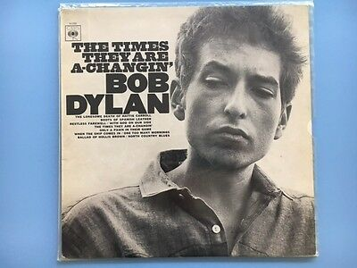 bob dylan the times they are a changing vinyl