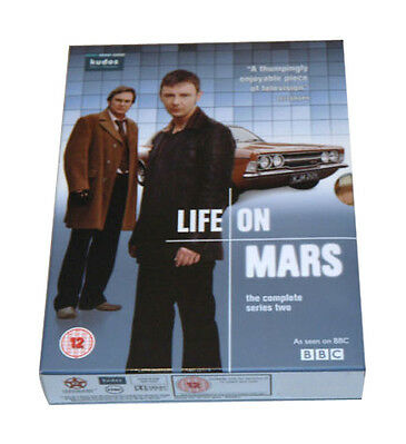 Life On Mars Complete Series 2 Dvd Boxset - New And Sealed
