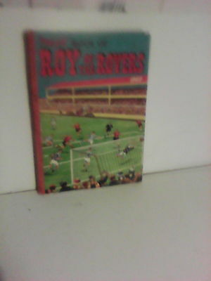 tiger book of roy of the rovers 1960