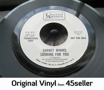 ♚ GARNET MIMMS promo 'Looking For You' EX- V RARE ORIGINAL Northern Soul 45 HEAR